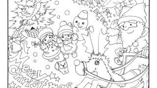 12月イラスト Kaechabi 虹色の筆